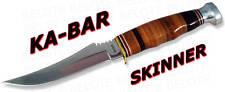 Ka-Bar KaBar Knives Skinner Fixed Blade w/ Sheath 1233 *NEW*