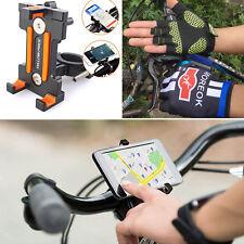 Adjustable 360 °Rotation Bike Phone Mount Holder Bicycle Motorcycle Half Gloves