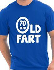 70th Cumpleaños 70 año de edad flatulentos Divertido Regalo De Cumpleaños Para Hombre Adulto T-Shirt S-XXL