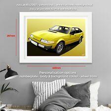 Rover SD1 3500 V8 Poster Print