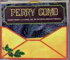 PERRY COMO Silent Night / O Come All ye LIMITED CHRISTMAS CD Single SEALED USA