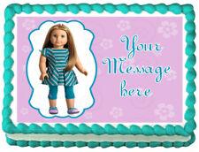 AMERICAN GIRL McKenna Image Edible Cake topper sheet