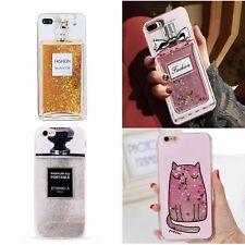 ^ Parfüm Flacon Motiv Perfume FUN CASE Glitzer Flüssig Cover Etui LG G6 Mini