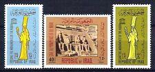 IRAQ IRAK 1966 UNESCO Save Monument Nubia EGYPT # 409 # 723 Iraqi Stamps  MH