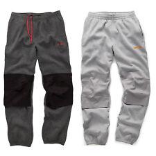 Scruffs Twin Pack Vintage Polaire Pantalon Gris Clair & Gris Foncé Pantalon De Jogging