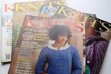 Interweave Knits Knitting Pattern Magazine Back Issues - New Knits Weekend