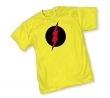DC REVERSE FLASH SYMBOL Logo - YELLOW ADULT Licensed T-Shirt  S-2XL