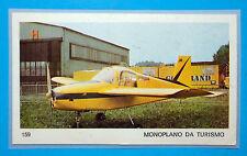 AEREI-Ed.Ediraf-Figurina/Sticker n.159-MONOPLANO DA TURISMO-Rec