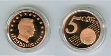 Luxemburg  5 Cent  PP/Proof  (Wählen Sie zwischen: 2002 - 2016)