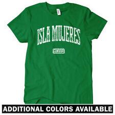 Isla Mujeres Women's T-shirt S-2X - Mexico Vacation Travel Gift Quintana Roo MX