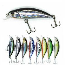 Small Minnow Lure 5cm 4.0g Wobblers Jerkbait 8 Colors Hard Bait Crank Fishing