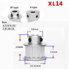 14 Teeth XL Timing Belt Pulley Bore 5mm-15mm for 10mm Belt Reprap 3D Printer CNC
