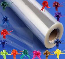 Clear MARE attraverso carta da pacco regalo cellophane Plus con fiocco 50mm