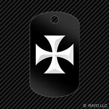 German Luftwaffe Roundel Keychain GI dog tag engraved many colors