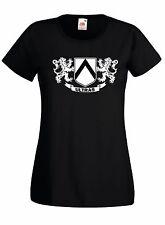 T-shirt Maglietta donna J1398 Udinese Friuli Stemma Ultras Terrace Style Udine