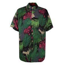 Marvel New Deadpool Print Tropical Button Up Shirt