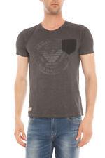 T-shirt Armani Jeans AJ Sweatshirt -35% Made In Italy Uomo Grigio A6H18NS-20