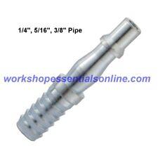 PCL Hose Tail Adaptors 1/4-5/16-3/8 Pipe Air Line Couplings Vertex, Genuine