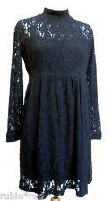 POMME ROUGE Black Lace Dress SIZES 8/10 & 12/14