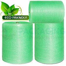 Biodegradable Green Small Bubble Wrap 750mm Eco Friendly Bubble Wrap
