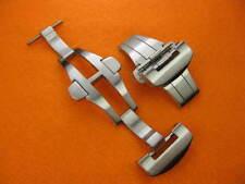 New 22mm DEPLOYMENT CLASP Brush Folding BUCKLE PANERAI 24mm Leather Strap