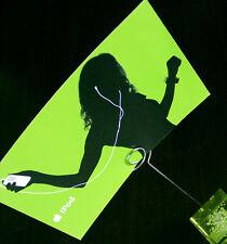 ORIGINALE Apple iPod cartolina in verde nuovo Merchandising/Pubblicità Top