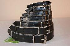 Cuir Véritable colliers chien feutre noir doublure, petit moyen grand