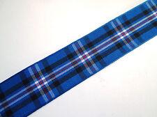 RANGERS FC Football Club tartan ribbon various widths + ODD SAMPLE LENGTHS