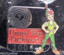 Wdw United Way 2004 Peter Pan Disney Pin
