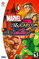 RGC Huge Poster - Marvel vs Capcom 2 Sega DreamCast BOX ART - SDC063