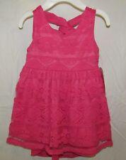 New Youngland Baby Girls Pink Lace Dress 12M