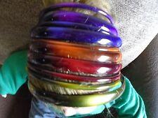 Pack 2 Colorati Capelli Alice Bande 0,5 cm 1.2 cm BAND PLASTICA Cerchietto Hairband