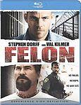 BRAND NEW Felon Blu-ray Region A BLU-RAY/WS FREE SHIPPING val kilmer/stephen dor
