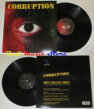 LP HARRY CHOO ROMERO Corruption 45 33 rpm 12'' 2002 subliminal NO cd mc dvd