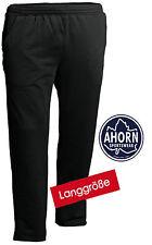 EXTRA LANG Ahorn Jogginghose L - 50/52 BIS 4XL - 64/66 Übergröße Schwarz