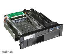 """Akasa ak-ien-01 lokstor M51 2.5 """" & 3.5"""" HDD COMBO RACK"""