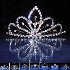 Tiara Sposa Diadema Coroncina acconciatura cerimonia frontino stola Art 07 D0262