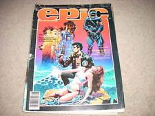 Epic Illustrated - Jun 1984- Generation Zero conclusion post-apocalypse series