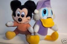 2 Plush Mickey's Christmas Carol Toys, Mickey & Donald