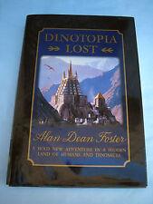 Dinotopia Lost Alan Dean Foster & James Gurney Signed 1st/1st 1996 Hcdj Dinosaur