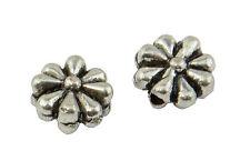 20 Flor Espaciador Granos de Metal Plana Grande (59004-216)