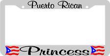 PUERTO RICAN PRINCESS PUERTO RICO License Plate Frame