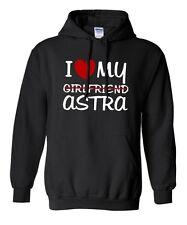 Hoodie * I love my girlfriend Astra tuning 16v Opel OPC sátira turbo sudadera
