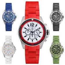 Reloj Hombre ROCCOBAROCCO SPORT Chrono Pulsera Acero Silicona Coloreado