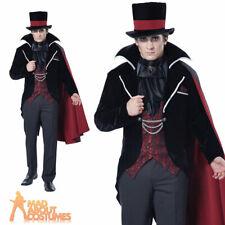 Adult Immortal Vampire Groom Costume Halloween Horror Mens Fancy Dress Outfit
