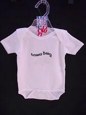 BNWT Baby Boys or Girls Sz 000 Super Soft 100% Organic Cotton Short Romper Suit
