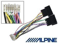 Câble adaptateur ISO autoradio Alpine 16 pins blanc