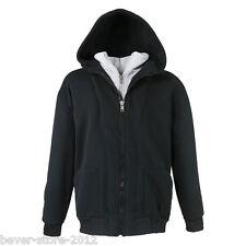 Lavecchia Übergrößen Sweatshirt Hoodie Jacke + Kapuze * Schwarz Grau 3X * NEU *