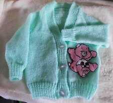 Care Bear Knitted Baby Cardigan (Nuevo) elección de sizes/colours