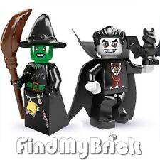 M255M256 Lego Vampire Minifigure & Witch Minifigures 8684 - NEW